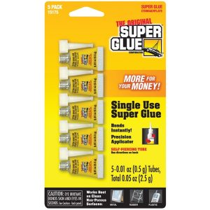 The Original SuperGlue 15175-12 Instant Adhesive Mini Tubes