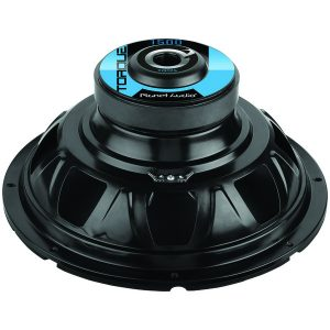 Planet Audio TQ12S Torque Series Single Voice-Coil Subwoofer (12""