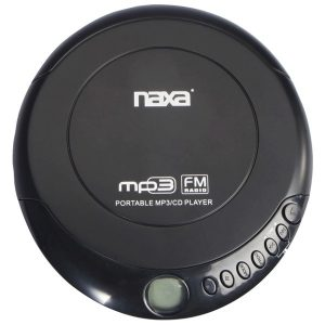 Naxa NPC-320 Slim Personal Anti-Shock CD Player/FM Radio