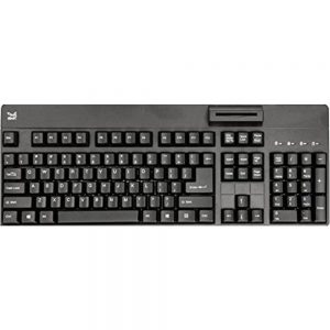 SMK-Link VP3800 USB TAA Keyboard With Smart Card - Black