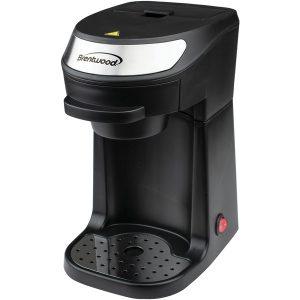 Brentwood Appliances TS-111BK Single-Serve Coffee Maker with Mug