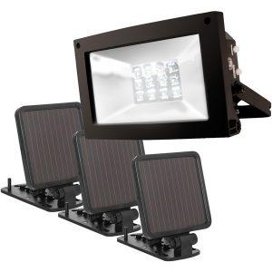 MAXSA Innovations 40331 Solar-Powered Ultrabright Flood Light