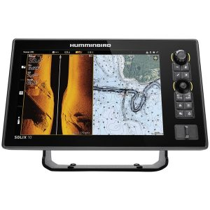 Humminbird 411010-1 SOLIX 10 CHIRP MEGA SI+ GPS G2 Fishfinder with Bluetooth & Ethernet