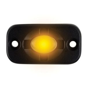 Heise LED Lighting Systems HE-TL1A 1.5-Inch x 3-Inch Aux Lighting Pod (Amber)