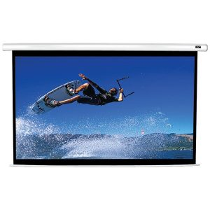 "Elite Screens VMAX150XWH2 VMAX2 Series Electric Screen (150""; 73.5"" x 130.7""; 16:9 HDTV Format)"