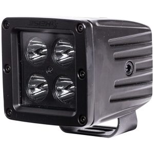 Heise LED Lighting Systems HE-BCL2S 3-Inch 4-LED Cube Spot Light (Blackout Series)