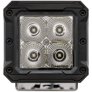 Heise LED Lighting Systems HE-HCL2 3-Inch 4-LED Cube Light with Flood Beam