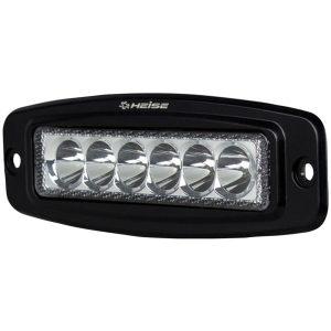 Heise LED Lighting Systems HE-FMDL1 6-LED Single-Row Flush-Mount Driving Light