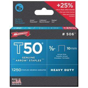 Arrow 50624 T50 Staples