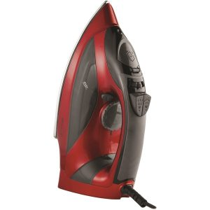 Brentwood Appliances MPI-90R Steam Iron with Auto Shutoff (Red)