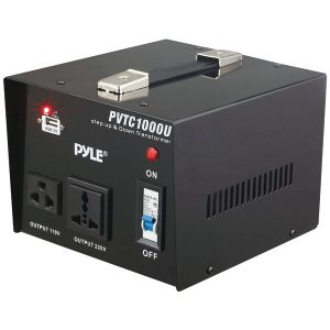 Pyle Pro PVTC1000U Step Up and Step Down Voltage Converter Transformer (1000-Watt)