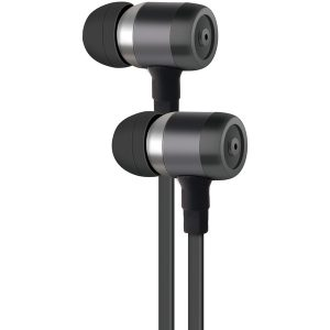 AT&T PE50-GRY PE50 In-Ear Stereo Earbuds with Microphone (Gray)