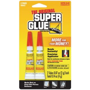 The Original SuperGlue SGH22-12 Super Glue Tubes