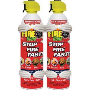 Fire Gone 2-FG-7209 Fire Suppressants with Bracket