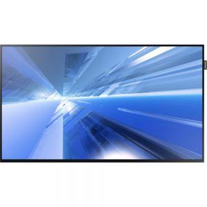 Samsung DM32E - DM-E Series 32 Slim Direct-Lit LED Monitor for Business - 32 LCD - ARM Cortex A9 1 GHz - 1.50 GB DDR3 SDRAM - 1920 x 1080 - Direct LED - 400 Nit - 1080p - HDMI - USB - DVI - Serial - Wireless LAN - Ethernet - Black