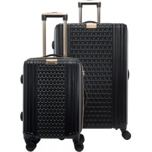 Sandy Lisa St. Tropez Travel/Luggage Case (Roller) Travel Essential - Black