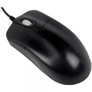 Seal Shield STM042P Silver Storm Medical Grade Optical Mouse - 800 dpi - PS/2 - Black