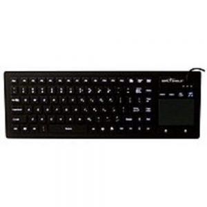 Seal Shield Touch Glow 2 S90PG2 All-In-One Keyboard - 90 Keys - USB - Black