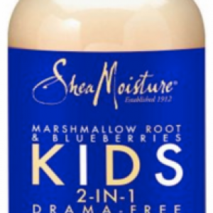 SheaMoisture Marshmallow Root & Blueberries Kids 2-in-1 Drama-Free Shampoo & Conditioner 8oz