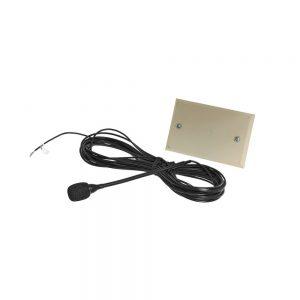 Shure Plate Mount Cardioid Hanging Condenser Microphone Black MX202BP/C
