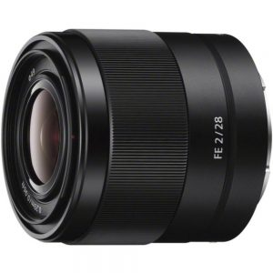 Sony - 28 mm - f/2 - Fixed Focal Length Lens for Sony E - Designed for Camera - 49 mm Attachment - 0.13x Magnification