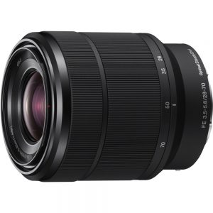Sony - 28 mm to 70 mm - f/3.5 - 5.6 - Zoom Lens for Sony E - Designed for Camera - 55 mm Attachment - 0.19x Magnification - 2.5x Optical Zoom - Optical IS - 2.9Diameter