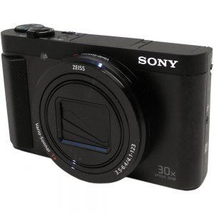 Sony Cyber-shot HX80 18.2 Megapixel Bridge Camera - Black - 3 LCD - 16:9 - 30x Optical Zoom - 2x - Optical (IS) - 4896 x 3672 Image - 1920 x 1080 Video - HDMI - HD Movie Mode - Wireless LAN