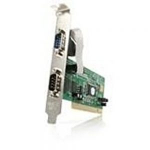 Startech PCI2S550 Serial Adapter for PC - 2 x 9-pin D-Sub (DB-9) Male RS-232