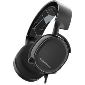 SteelSeries Arctis 3 Headset - Stereo - Mini-phone - Wired - 32 Ohm - 20 Hz - 22 kHz - Over-the-head - Binaural - Circumaural - 9.84 ft Cable - Bi-directional Microphone - Black