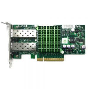SuperMicro 2xPorts SFP+ 10GbE PCI-E x8 Low Profile Network Adapter AOC-STGN-I2S