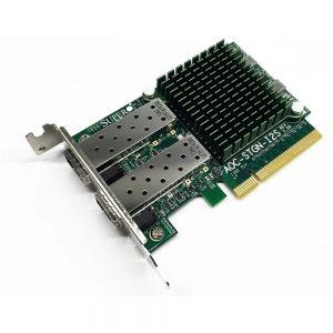 SuperMicro 2xPorts SFP+ 10GbE PCI-E x8 Low Profile Network Adapter AOC-STGN-I2S Rev2