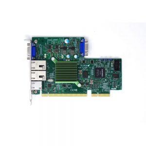 SuperMicro AOM-X10QBI-A 2x10GBase-T Ports LAN VGA Add-On Module