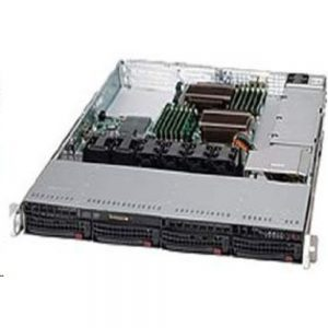 SuperMicro Superchassis 600W 1U RackMount Server Chassis Black CSE-815TQ-600WB