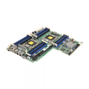 SuperMicro X9DRW-IF Intel C602 Chipset DDR3 Dual Socket LGA 2011 MBD-X9DRW-IF-B Server Motherboard