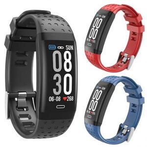 Supersonic SC-87FB Bluetooth Fitness Band with Heart Rate and Blood Pressure Monitors and 3-Color Band Set