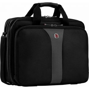 Swissgear Wenger WA-7652-14F00 Legacy Gusset Bag for 15.6-inch Laptop - Black