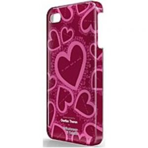 Symtek WUS-I4S-TCT03 Whatever It Takes Charlize Theron Designed Protective Case for iPhone 4