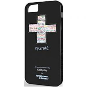 Symtek WUS-IP5-GCP01 Whatever It Takes Coldplay Case for iPhone 5 - Black