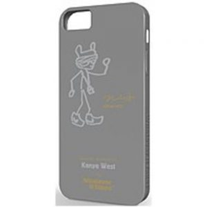 Symtek WUS-IP5-GKW01 Whatever It Takes Premium Gel Shell for Apple iPhone 5 - Kanye West Grey
