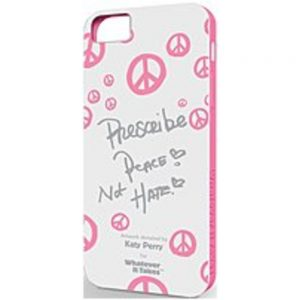 Symtek Whatever It Takes WUS-IP5-GKP01 Premium Gel Shell for Apple iPhone 5 - Katy Perry White