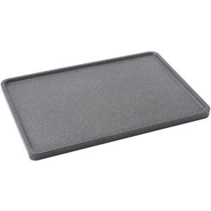 """THE ROCK by Starfrit 060739-003-0000 THE ROCK by Starfrit 17.75"""" Reversible Grill/Griddle Pan"""