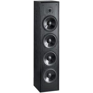 BIC America DV64 200-Watt 2-Way 6.5-Inch Slim-Design Tower Speaker for Home Theater and Music