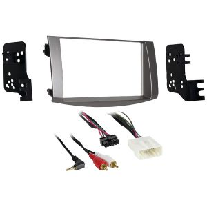 Metra 95-8215S Double-DIN Installation Kit in Silver for 2005 through 2010 Toyota Avalon