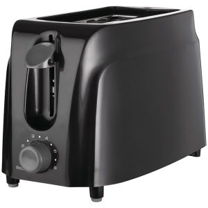 Brentwood Appliances TS-260B Cool-Touch 2-Slice Toaster (Black)