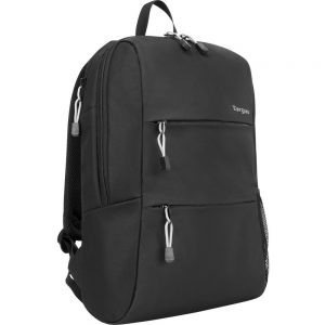 Targus Intellect Plus TSB967GL Carrying Case (Backpack) for 15.6 Notebook - Black - Water Resistant - Mesh Back Panel