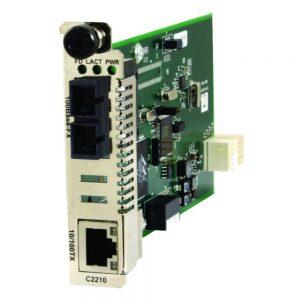 Transition Networks Converter Module 10/100Base-TX To 100Base-FX C2210-1011