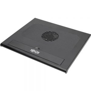 Tripp Lite NC2003SR Cooling Pad with 2 Built-in USB Powered Fans for Notebooks - Plastic - USB 2.0 - Black