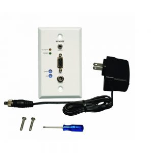 Tripp Lite Wallplate VGA With Audio Over Cat5 Cat6 Extender B132-100A-WP-1