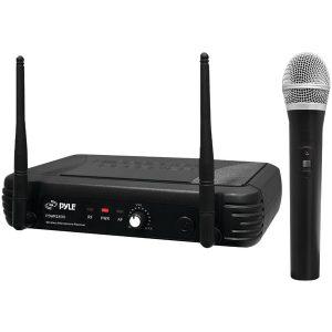 Pyle PDWM1800 Premier Series Professional UHF Wireless Handheld Microphone System