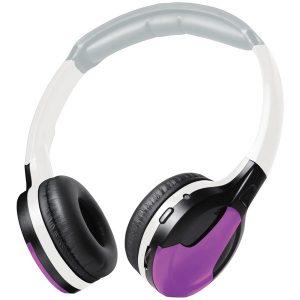 XOVision IR630PR Universal IR Wireless Foldable Headphones (Purple)